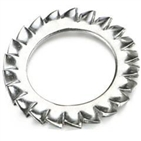 Serrated lock washers DIN6798A&J&V